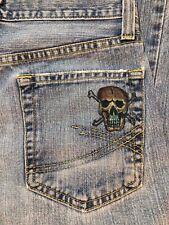 Vintage Roebuck & Co. 30 X 30 Distressed Blue Jeans