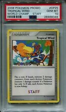 Pokemon Promo World Championship Tropical Win Promo STAFF. TOP END CARD PSA 10!