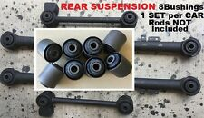 8pcSet Bushings fit 1987- 90 91 92 93 94 95 Nissan Pathfinder Rear Trailing ARMS