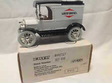 WEST BEND 1913 MODEL T VAN COIN BANK  #9237 ERTL  #478 OF ONLY 528 MADE
