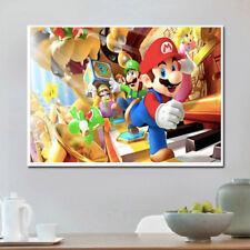 AU Super Mario Full Drill DIY 5D Diamond Embroidery Painting Cross Stitch Kit LE