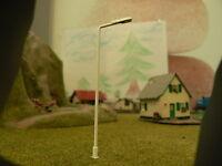 Led Lampe Laterne Straßenlaterne Parklaterne Spur H0 12V Modellbau DC warmweiß