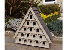 Large Wooden Bird House, Rustic Garden Dove House, Dovecote with 15 Windows NEW