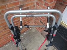 Bike rack for 3 bikes - Exodus Metal Clamp High 3 Bike Carrier from Halfords