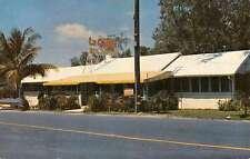 Miami Florida La Casita Tea Room Street View Vintage Postcard K50406