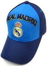 Real Madrid Spain Club Team Navy / Royal Blue / Green Hat Cap Soccer Futbol Logo