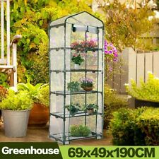 5 Tier Mini Greenhouse with Clear Polyethylene Cover insulation with Stand
