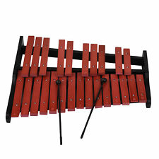 25 Notes Wooden Xylophone Vibraphone Percussion Wooden + 2 Mallets kids Toy