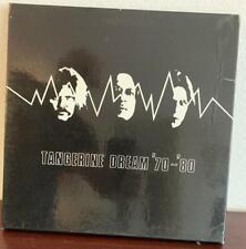 TANGERINE DREAM 70-80 1980 4LP NIMBUS BOX SET + BOOKLET PSYCH PROG UK LP