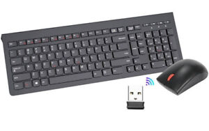 NEW Lenovo 4X30M39458 Essential Wireless Keyboard and Mouse Combo