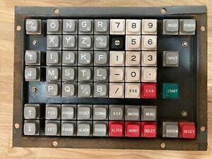 Fanuc Keyboard A20B-1000-0131-01 / 03, w/ A20B-0007-0030 / 02A & CLX