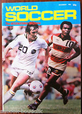 WORLD SOCCER du 12/1980; 20 years Of South Américan Soccer, Pelé/ Colombia 1986
