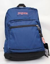 JanSport City Scout School Laptop Backpack Book Bag Classic Navy New with Tags