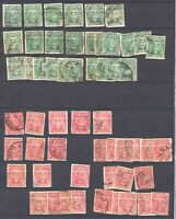 RHODESIA 119//124 2 PAGES COLLECTION LOT $252 MINIMUM SCV 76 STAMPS HIDDEN VALUE