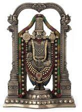 "8.5"" Venkateswara Statue Lord Balaji Hindu God Maha Vishnu Sculpture Hinduism"
