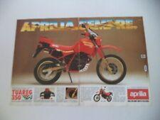 advertising Pubblicità 1986 MOTO APRILIA TUAREG 350