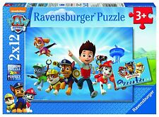 Paw Patrol-Ravensburger 2 x 12 pièces puzzles * brand new *