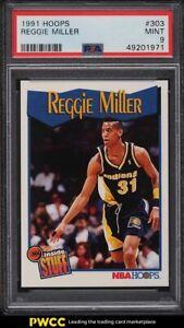 1991 Hoops Reggie Miller #303 PSA 9 MINT
