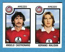 CALCIATORI PANINI 1982-83 Figurina-Sticker n.356- CASTRONARO#MALISAN -AREZZO-New