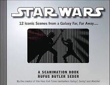 Star Wars: A Scanimation Book by Rufus Butler Seder...VGC