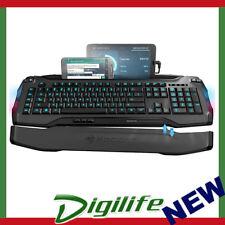 ROCCAT SKELTR Grey Smart Communication Gaming Keyboard ROC-KB-SKELTR-GY