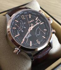 Timex Inteligente de cuarzo Reloj para hombres Tiempo del Mundo (T2N942DH)