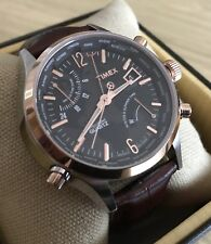 Timex Intelligent Quartz World Time Orologio Uomo (T2N942DH)