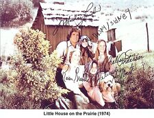 Little House on the Prairie (1974) Michael Landon RARE CAST SIGNED RP 8x10 WOW!!