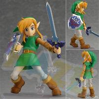 284 The Legend of Zelda: Breath of The Wild Link PVC Figure Toy 14cm