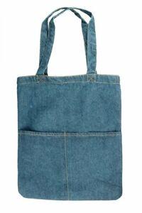 Denim Tote Bag, Satchel, Denim Shoulder Bag, Denim Bags for Women, Blue Denim