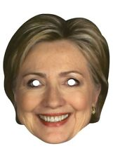 Hillary Clinton Paper Mask Presidential Candidate Democrat USA American Female