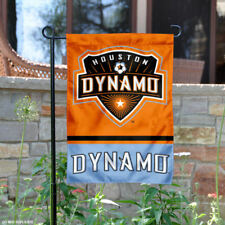 Houston Dynamo Two Sided Garden Flag and Yard Banner