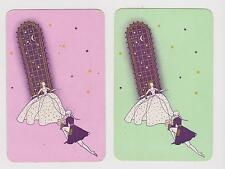 WALTZ TIME X 2 ONLY SINGLE VINTAGE PLAYING/SWAPCARDS....MOONLIGHT AND ROMANCE