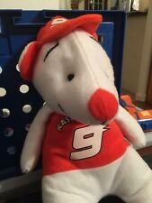 NASCAR KASEY KAHNE JACKET HAT PLUSH FAN BEAR TOY ORANGE PLUSH DODGE 12""