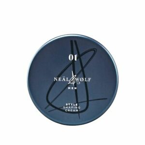 Neal & and Wolf Men 01 Style Shaping Cream 100ml Brand New