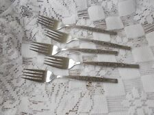 Oneida Wm Rogers Premier Stainless SPANADA - Lot of 5 Salad Forks