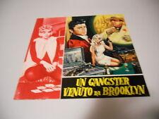 BROCHURE UN GANGSTER VENUTO A BROOKLYN LITTLE TONY EVI MARANDI 1966
