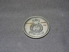 Vintage Silver Coloured RAF Fencing Medal - Individual Winner Foil
