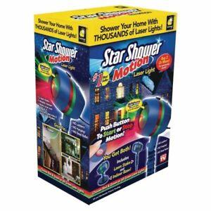 BulbHead Star Shower Motion Laser Lights Projector (10639-6)