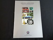 1996 BMW Alpina Teile für BMW 6er Reihe E24 Spoiler Felgen Prospekt Brochure