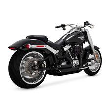 Vance & Hines ShortShots Staggered Schwarz Harley-Davidson Fatboy Breakout 18-19
