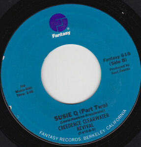 """CREEDENCE CLEARWATER REVIVAL - Susie Q  7"""" 45"""