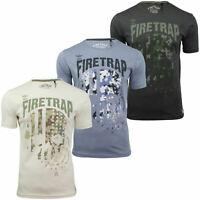 Mens T-Shirt by Firetrap 'Keswick' Short Sleeved