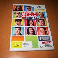 Nintendo Wii Game : GLEE - KARAOKE REVOLUTION + BOOKLET MANUAL ( EXCELLENT ! )