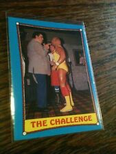 1987 O-Pee-Chee #58 Hulk Hogan Andre the Giant Pack Fresh WWF Wrestlemania 3 WOW