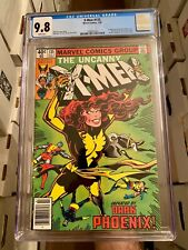 X-Men #135 CGC 9.8! NEWSSTAND! White Pages Iconic Dark Phoenix Cover! WOW!