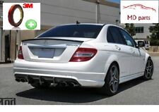 Mercedes Benz W204 Limousine C180 - C63 AMG Carbon Spoiler / Heckspoilerlippe