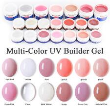 Yayoge UV LED Gel Builder Gel Nail Polish Extensión de Uñas de Camuflaje Varios Colores