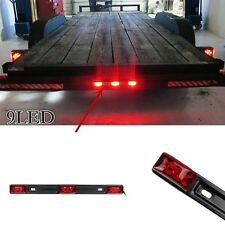 9LED ID Clearance 3 Light Waterproof Marker Light For Universal Car SUVs Trailer