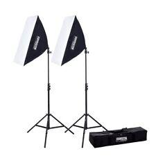 Fovitec 2 x 850w Photography Video Softbox Studio Lighting Kit Youtube Blogging